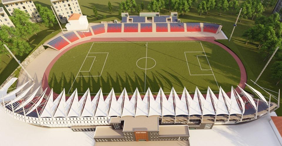 Construire stadion Targoviste