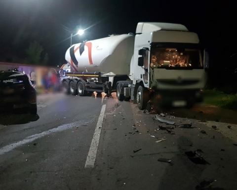 Accident DN 72 A-Gheboieni