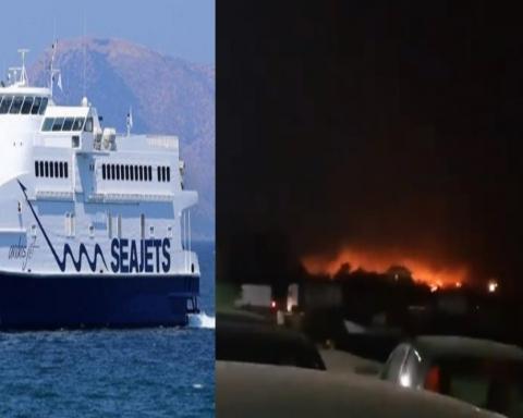 Turiști români blocați la Samotraki, Grecia