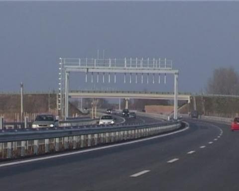 Amenintare cu arma pe autostrada A1