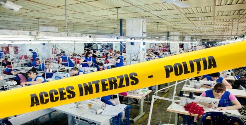 Deces fabrica textile