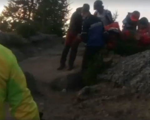 Turist olandez accidentat