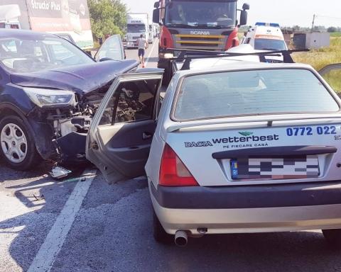 accident DN 72 Lucieni